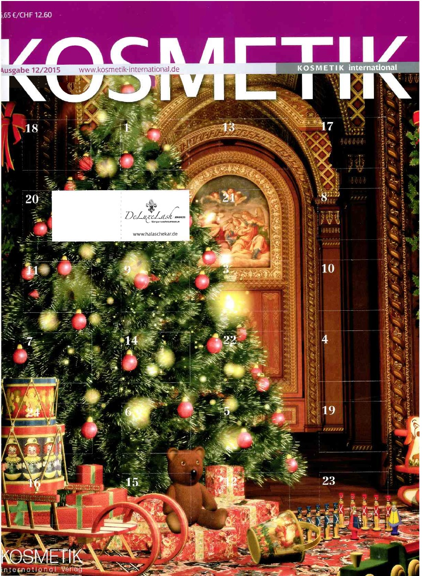 Kosmetik International Dezemberausgabe